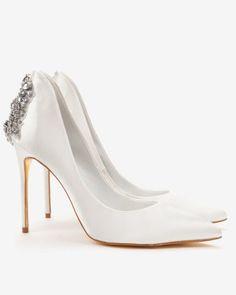 Ted Baker- Embellished court shoes
