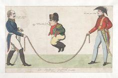 1815:Bodleian Libraries, Le sauteur impérial grand faiseur de tour.French political cartoon; References: De Vinck, No. 9601.