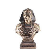 Figura busto primer faraón