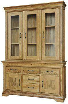 Lyon Oak Large Dresser #oakfurniture