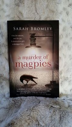 Tonight's #YABookCook features A Murder of Magpies by debut author Sarah Bromley, and gluten free peanut butter oatmeal cookies--with cornstarch. A Murder of Magpiesis a modern Gothic thriller. Va...