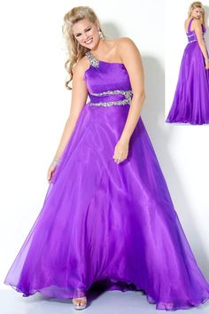 Buy Ball Gown One Shoulder Sheath Column Empire Prom Dresses With Beading Sequins On line