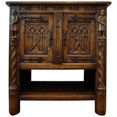Shop antique, mid-century, modern, contemporary and vintage furniture from the world's best furniture dealers. Vintage Furniture, Cool Furniture, Modern Furniture, Furniture Storage, Black Forest Wood, Drinks Cabinet, Modern Credenza, Knights, Gothic