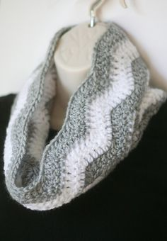 Chevron Cowl Scarf--Any color