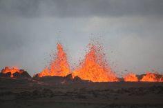 éruption volcanique en Islande 2014