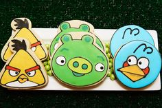 Boy Parties: Video Game Themed Parties: Amazing Angry Birds Themed Party - Pink…