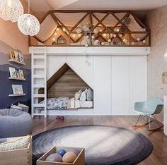45 Trendy Bedroom Loft Ideas Kids Little Girls Cool Bedrooms For Boys, Cool Kids Rooms, Boys Bedroom Decor, Childrens Room Decor, Bedroom Loft, Baby Bedroom, Awesome Bedrooms, Trendy Bedroom, Coolest Bedrooms