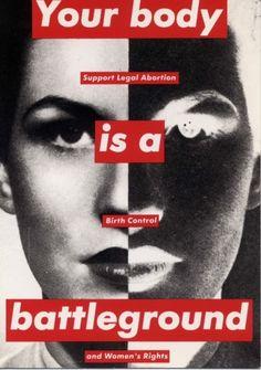 Barbara Kruger will always inspire us #barbarakruger #feministart #womenoflegacy