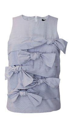 716ea5ac03c407 Tibi - Gaucho Striped Tie Top Summer Fashion Trends