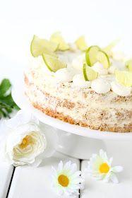 Tämä limeä ja valkosuklaata sisältävä kakku on ihana, kostea, mehevä, sopivan makea, raikas, tasapainoinen ja ja ja, mitäs tästä täydelli...