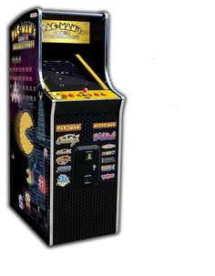 Pac Man s Arcade Party Upright Video Game Machine. How many of you remember playing this Arcade game? It was one of my favorites in the early Video Game Machines, Arcade Game Machines, Arcade Machine, Pac Man, Cabaret, Arcade Games, Console, Arcade Room, 13 Game
