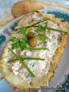 Receita de Salada de Abacaxi, Chuchu e Batata