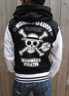 One Piece Mugiwara Pirates Luffy Stadium Jacket