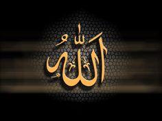 Yellow Kaligrafi Allah Wallpapers