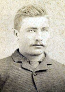 Laura's cousin, Peter Ingalls--so cool that I found this picture!  (he and Laura were very close especially after Laura and Almanzo were married--he also traveled with Royal down the Mighty Mississippi River after leaving De Smet)