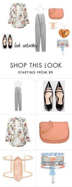 """look saturday"" by aliciagorostiza on Polyvore featuring moda, Gucci, New Look, Michael Kors y Kendra Scott"