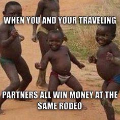 Haha so true! #Rodeo #BarrelRacing