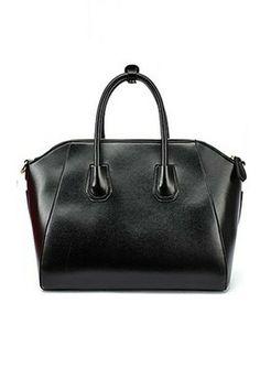 Simple Elegant Celebrity Zipped Shoulder Bag