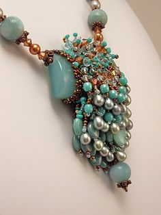 HAUTE ICE BEADWORK: 2009 GALLERY (Marsha Wiest-Hines - and this is my favorite EVER, I adore the fringe!!)