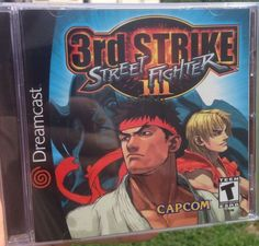 Street Fighter III: 3rd Strike US #retrogaming #HotDC Brand New Sealed. auction ends in less than 5 hours.