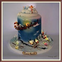 Christmas CAKE - Cake by mariana