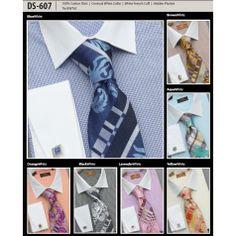 Steven Land Dress Shirt Contrast Collar / Contrast French Cuff (4 Colors) - Steven Land Men's Shirts - Shop Shirt Brands - Shirts