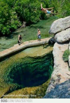 Jacob's Well, Wemberley, Texas