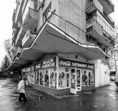 Housing building - Chibrit area, Bucharest, Romania, built in Proiect Bucuresti. (c) BACU Building A House, Louvre, Street View, Architecture, Travel, Bucharest Romania, Instagram, Modernism, Twitter