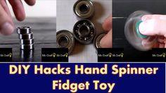 DIY Hacks Hand Spinner Fidget Toy
