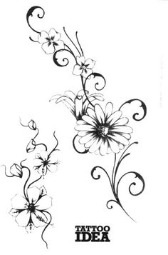 tattoo vorlage mit schmetterling und hibiskus blumen tattoos pinterest hibiskus tattoo. Black Bedroom Furniture Sets. Home Design Ideas