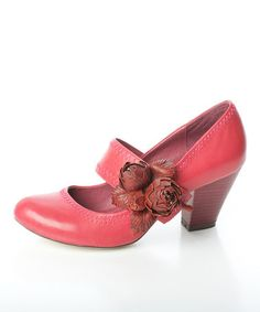 Take a look at this Raspberry Bouquet Pump by Miss L Fire on #zulily today!