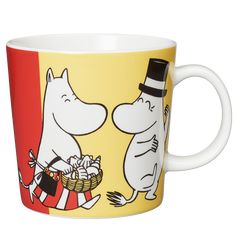 Moomin Mugs from Arabia – A Complete Overview Moomin Mugs, Tove Jansson, Finland, Coffee Mugs, Tableware, Handmade, Painting, Mugs, Dinnerware