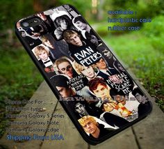 Collage | American Horror Story | Evan Peters iPhone 6s 6 6s  5s 5c 4s Cases Samsung Galaxy s5 s6 Edge  NOTE 5 4 3 #movie #AmericanHororStory ii