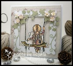 Vixx Handmade Cards: LILI OF THE VALLEY DC POST ~ SWING TIME...