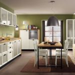 Kitchen with Dining Room: How to Paint Two Rooms into One