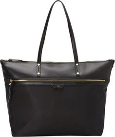 Tutilo  Takeaway Top Zip Tote Black - via eBags.com!