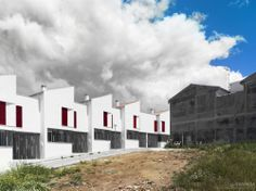 18 Social Houses in Iznajar / Gabriel Verd Arquitectos