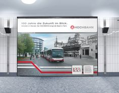 100 Jahre Hochbahn - Jahr 4. Mobilität im Wandel. Kampagne, anlässlich des 100-jährigen Bestehens der Hochbahn, zeigt in eindrucksvollen Motiven den Einfluss der Hochbahn als Faktor für die Stadtentwicklung in Hamburg. Mehr http://orange-cube.de/static.php?page=100-jahre-hamburger-hochbahn-6