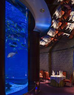 Burj Al Arab Jumeirah - Dubai Restaurants - Al Mahara - seafood