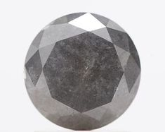 FANCY-ROSECUT-GREY-BLACK-BLUE-SLICE-BEAD LOOSE by SHREEDIAMOND Rough Diamond, Round Cut Diamond, Diamond Shapes, Pepper Color, Salt And Pepper Diamond, Colored Diamonds, Natural Diamonds, Fancy, Beads