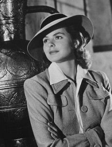 Ingrid Bergman in Casablanca  sc 1 st  Pinterest & Ingrid Bergman in