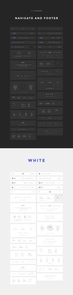 Unit kit, 170 pages, 600+ elements by Spline on @creativemarket