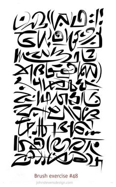 Super brush exercise by John Stevens!