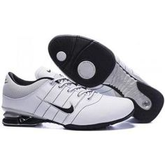 the best attitude bdc8e ee7bf chaussures nike shox homme (blanc or noir) pas cher en ligne.
