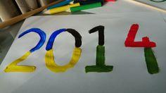 DIY Knutselen - verf - Sochi of Sotsji 2014 Olympische Spelen / Olympic Games
