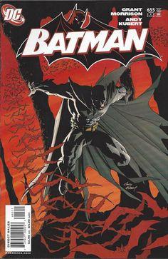 Batman vol 1 #655   Cover art by Andy Kubert & Dave Stewart