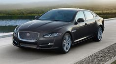 JAGUAR  XJL in Ultimate Black.