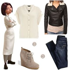 Outfit inspired by Colette from Ratatouille