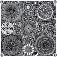 Mandala Bouquet by Matt Ridgway