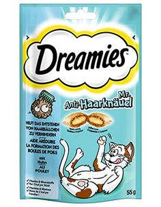 Dreamies Cat Treats with Tasty Chicken (60g) ** Want additional info? Click on the image.